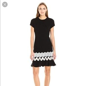 NWOT SHOSHANNA Black Lombardy Dress
